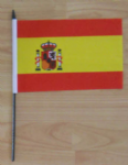 Spain Country Hand Flag - Medium.